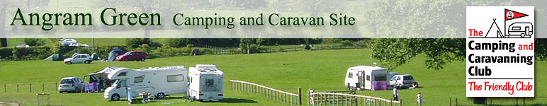 Angram Green Camping and Caravan site Pendle, Forest of Bowland, Ribble Valley